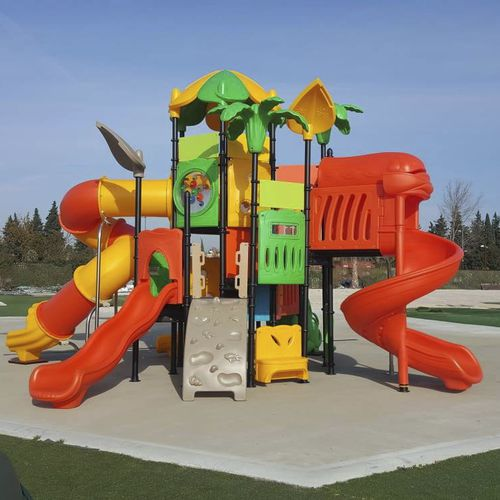 playground play structure / for water parks / for public entity / aluminum