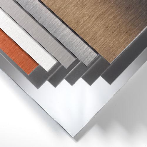 cover composite panel / metal / for facade cladding