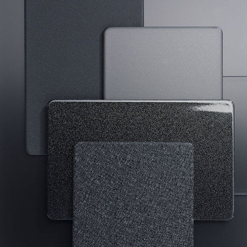 composite cladding / strip / metal look