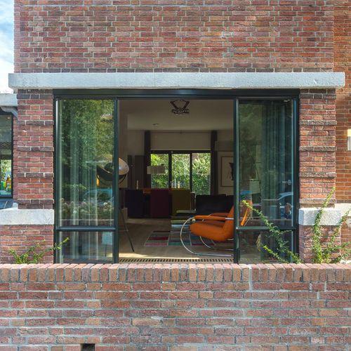 sliding patio door / aluminum / triple-glazed / thermal break
