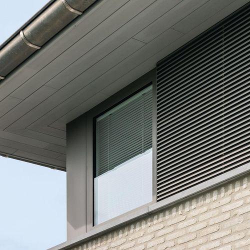 casement window / tilt-and-turn / fixed / aluminum