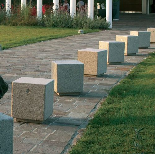security bollard / parking prevention / access control / stone