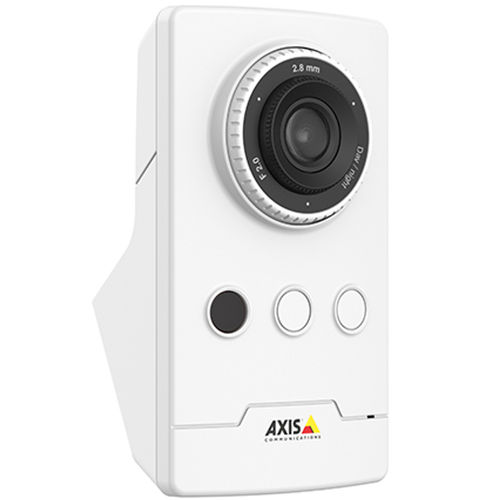 IP security camera / fixed / box / wall-mounted