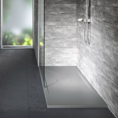 rectangular shower base / acrylic / custom / non-slip
