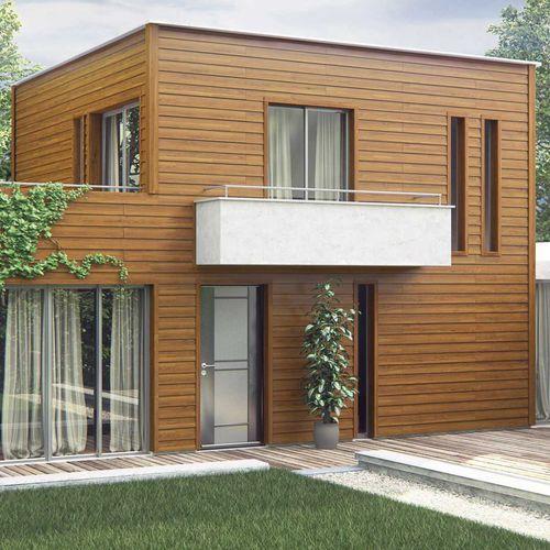 aluminum cladding / pre-lacquered / strip / insulated