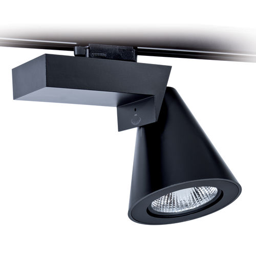 LED track light / round / polycarbonate / commercial