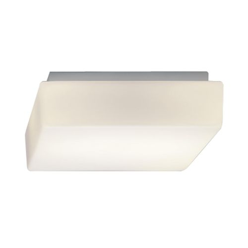 surface-mounted light fixture / LED / square / metal