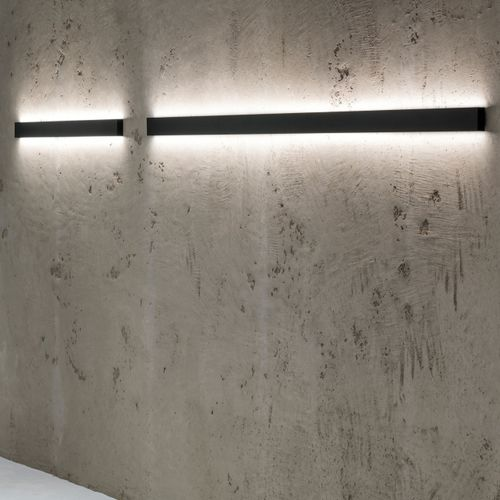 contemporary wall light / aluminum / LED / linear