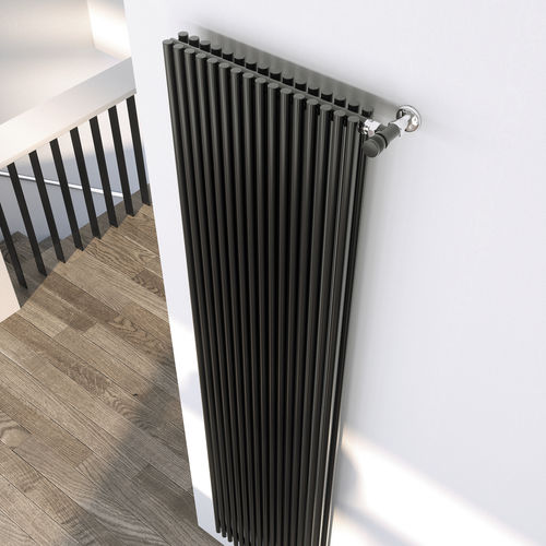 Hot water radiator / steel / contemporary / tube SAHARA ONE SCIROCCO H