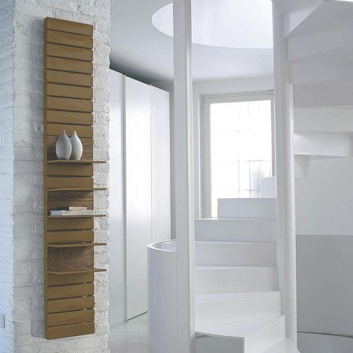 Hot water radiator / steel / contemporary / rectangular UTILITY by Franca Lucarelli & Bruna Rapisarda SCIROCCO H