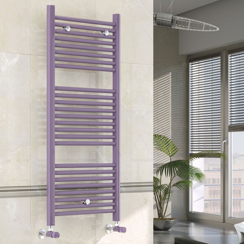 Hot water towel radiator / electric / steel / chrome LAGUNA SCIROCCO H