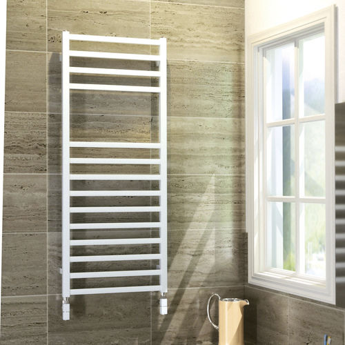 Hot water towel radiator / electric / steel / chrome QUADRO SCIROCCO H