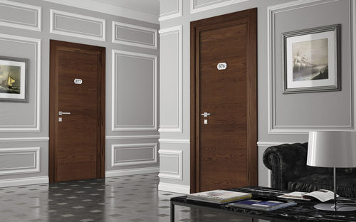 Indoor door / swing / MDF / fire-rated REI 120 : SINGOLA/DOPPIA GAROFOLI