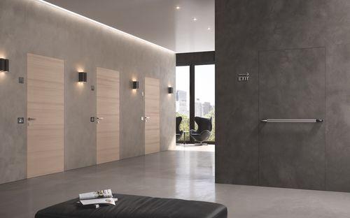 indoor door / swing / Cornish oak / fire-rated