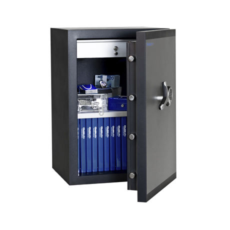 electronic safe / free-standing / fire-rated
