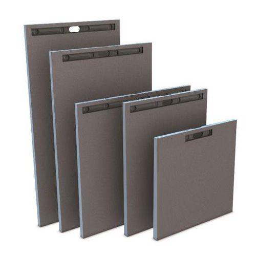square shower base / fiberglass / concrete / polystyrene