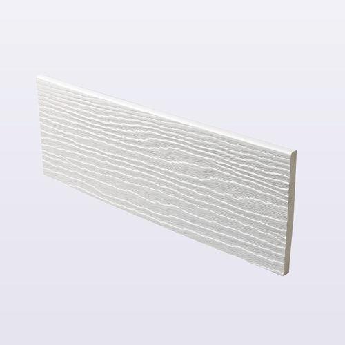 PVC cladding / textured / panel / wood look