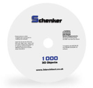 2D/3D object library SCHENKER 1000 Eleco Software