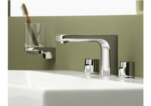 3 hole washbasin double handle mixer tap CULT Villeroy & Boch