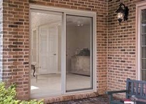 Sliding Patio Door / Fiberglass / Double Glazed / Security. THERMA TRU DOORS
