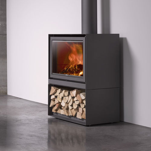 Wood heating stove / contemporary / metal 16-H Stûv