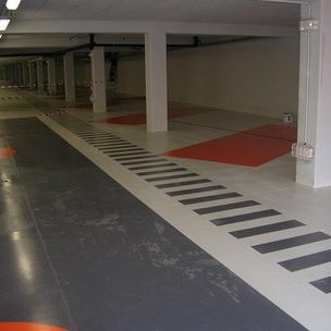 protective paint / for floors / for industrial applications / for concrete