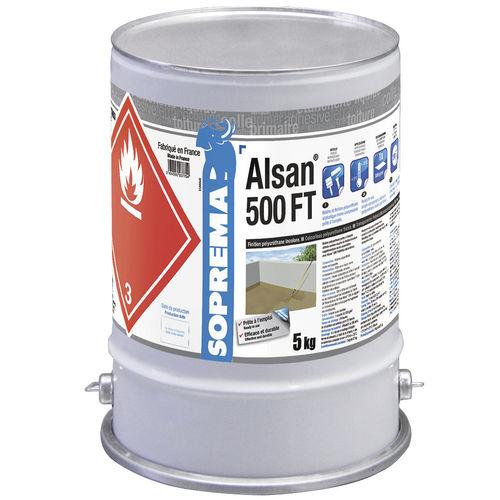 Finishing coating / leak-proofing / for walls / for floors ALSAN® 500 FT SOPREMA