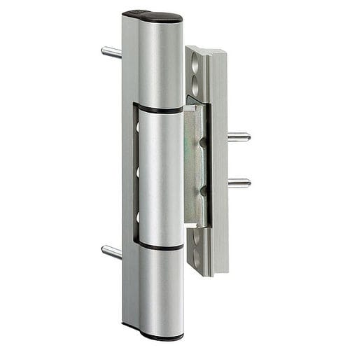 door hinge / metal / PVC