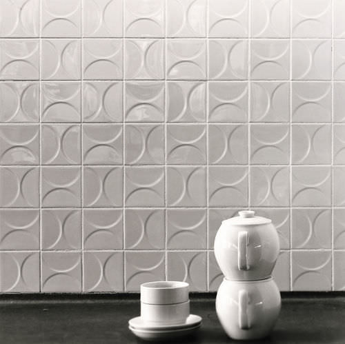 Indoor tile / floor / ceramic / geometric pattern CLASSICS KHO LIANG IE Mosa. Tiles.