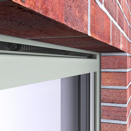Self-regulating window vent VENTALIS Reynaers Aluminium