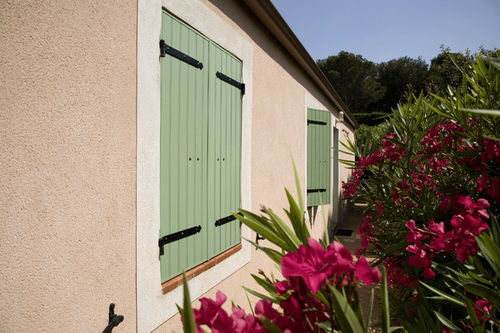 Swing shutters / aluminum / window / thermal break TAOS® PROFILS SYSTEMES