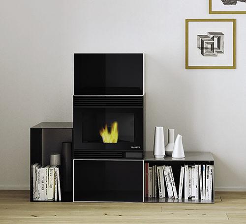 pellet heating stove - PALAZZETTI LELIO