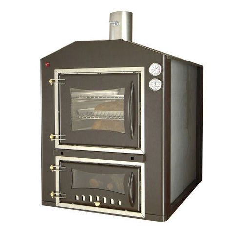 wood-burning oven / built-in