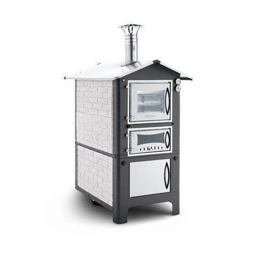 wood-burning oven / 2-chamber
