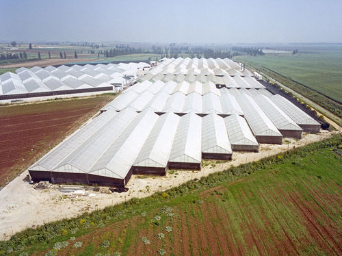polycarbonate roofing sheet / translucent / corrugated