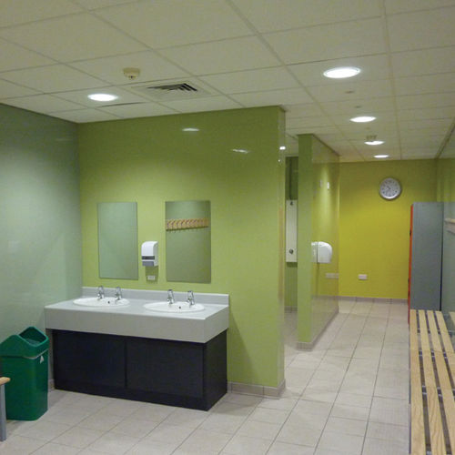PVC wallcovering / for schools / for offices / for public spaces