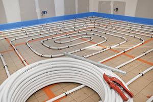 electric underfloor heating / residential