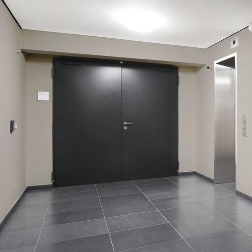 entry door / two-way / steel / security