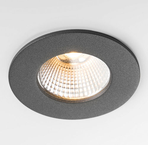 recessed ceiling downlight / LED / round / home