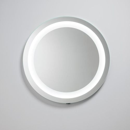 Wall-mounted mirror / contemporary / round / illuminated SATURNO Oasis Group srl