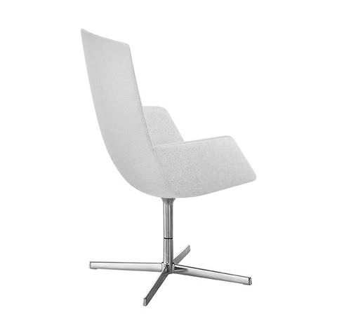 Contemporary office chair / with armrests / upholstered / swivel CATIFA SENSIT Arper