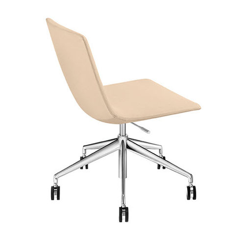 Contemporary office chair / with armrests / upholstered / on casters CATIFA SENSIT Arper