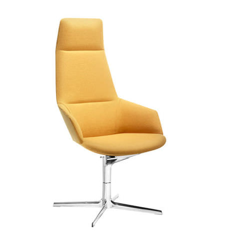 Contemporary executive chair / fabric / leather / synthetic leather ASTON Arper