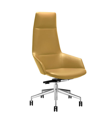contemporary executive chair / fabric / leather / synthetic leather