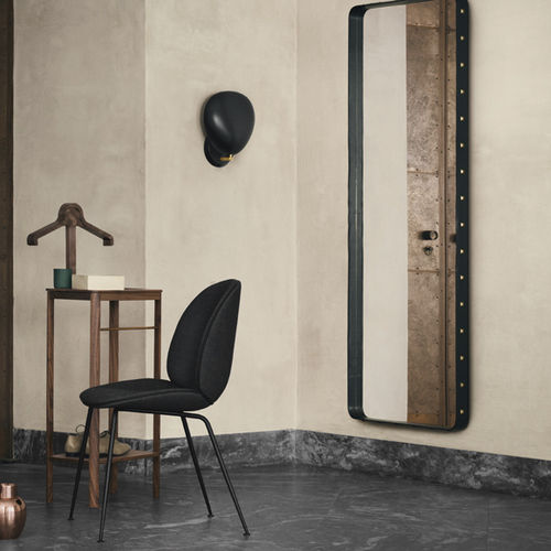 contemporary wall light / metal / halogen / conical
