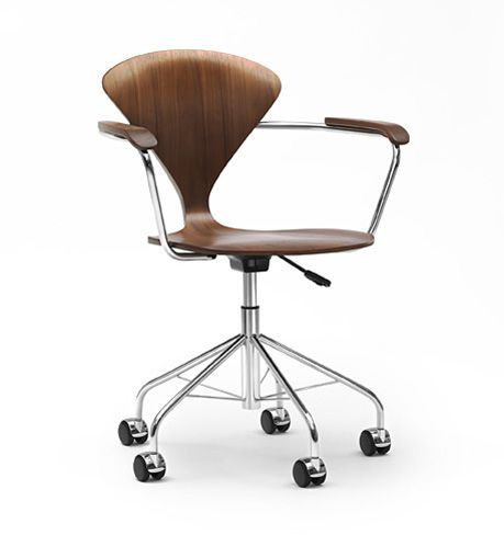 contemporary office chair / swivel / adjustable / on casters