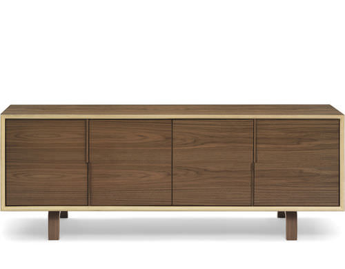 contemporary sideboard / walnut
