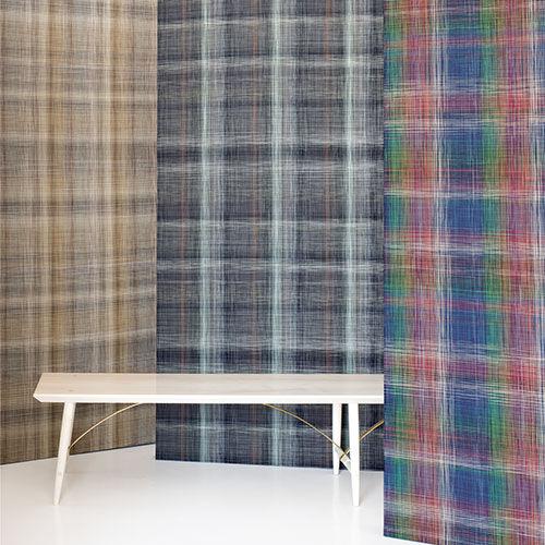 wall fabric / patterned / PVC / polyurethane