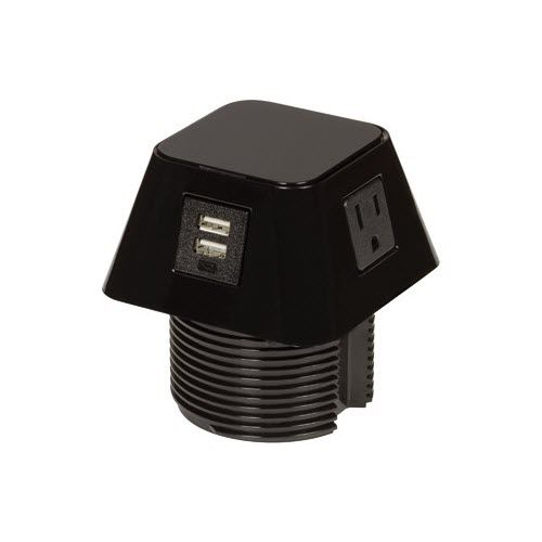 data socket / power / multi-person / surface-mounted