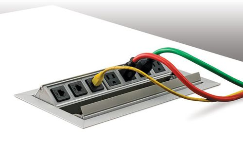 data socket / electric / multi-person / recessed
